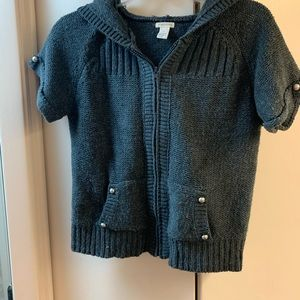 Maurice's zip front sweater